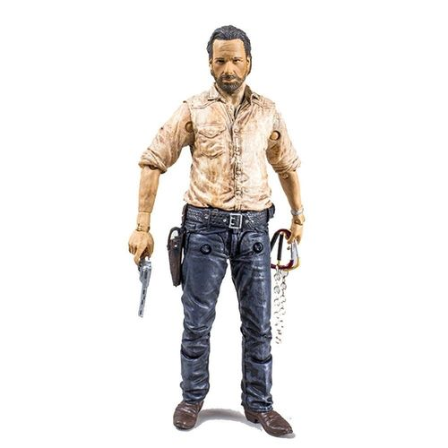 Figura Rick Grimes The Walking Dead 6 13cm