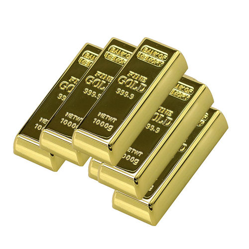 USB 8 GB Lingote Oro, Gold, 999,9 Pen Drive
