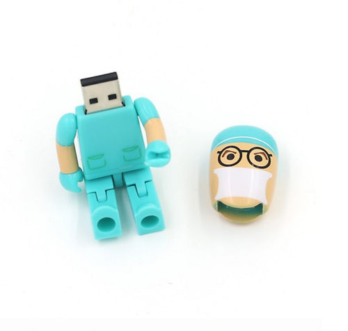 USB,PenDrive 8 GB Medico, Cirujano, Flash Drive,