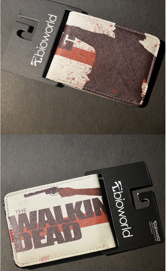 Cartera - Billetera - Monedero Serie Walking Dead