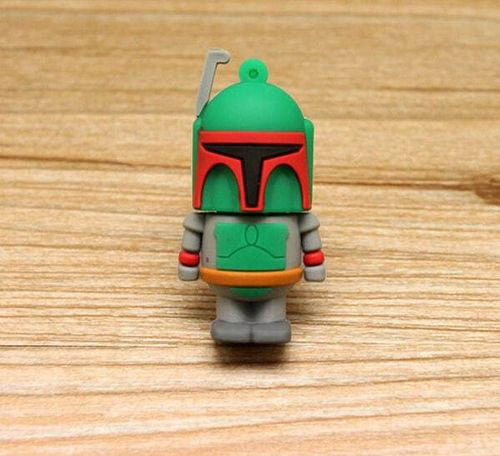 USB 8 GB Boba Fett Star War Pen Drive