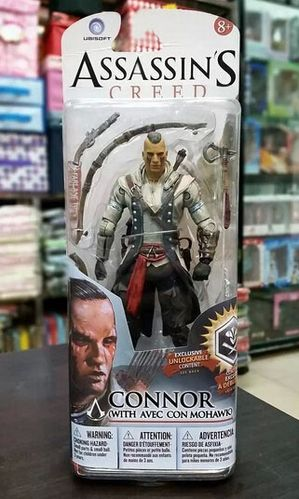Figura Connor Mohawk Assassin Creed Black Flag