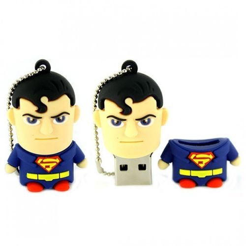 USB 8 GB Superman Super Heroe Pen Drive