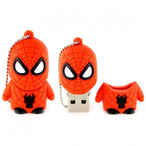 USB 8 GB Spiderman Super Heroe Pen Drive
