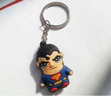 Llavero Superheroe, Superman, Clark Kent