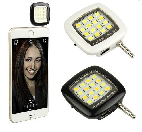Flash universal para smartphone 16 LED