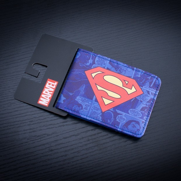 Cartera - Billetera - Monedero Superman