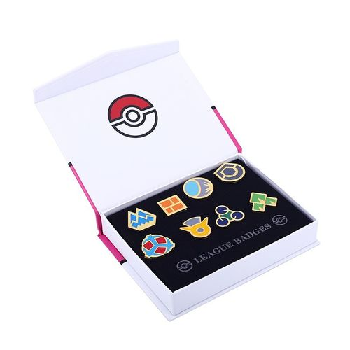 Caja Medallas Pokemon Liga Sinnoh League Badget