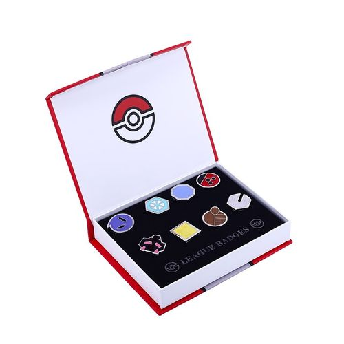 Caja Medallas Pokemon Liga Johto League Badget