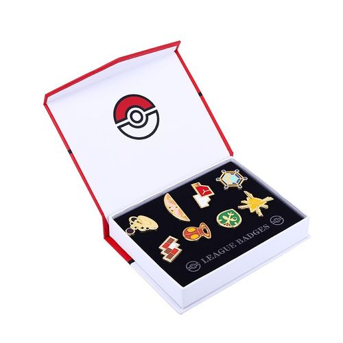 Caja Medallas Pokemon Liga Kalos League Badget